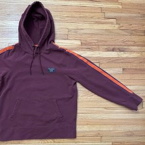Abercrombie & Fitch - Burgundy Hoodie